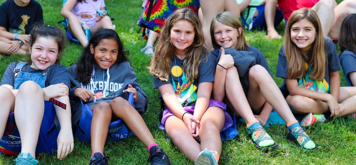 girls at rockbrook camp