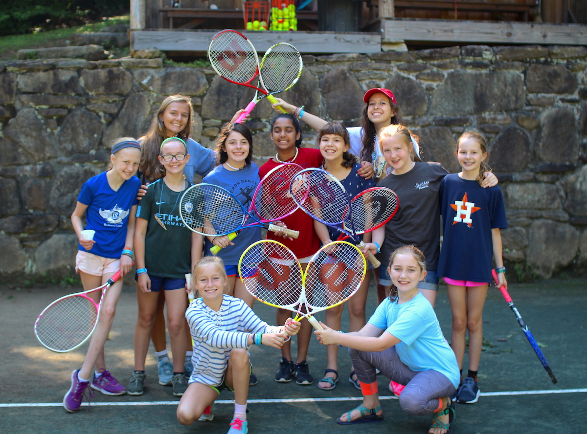 Tennis Camp Children