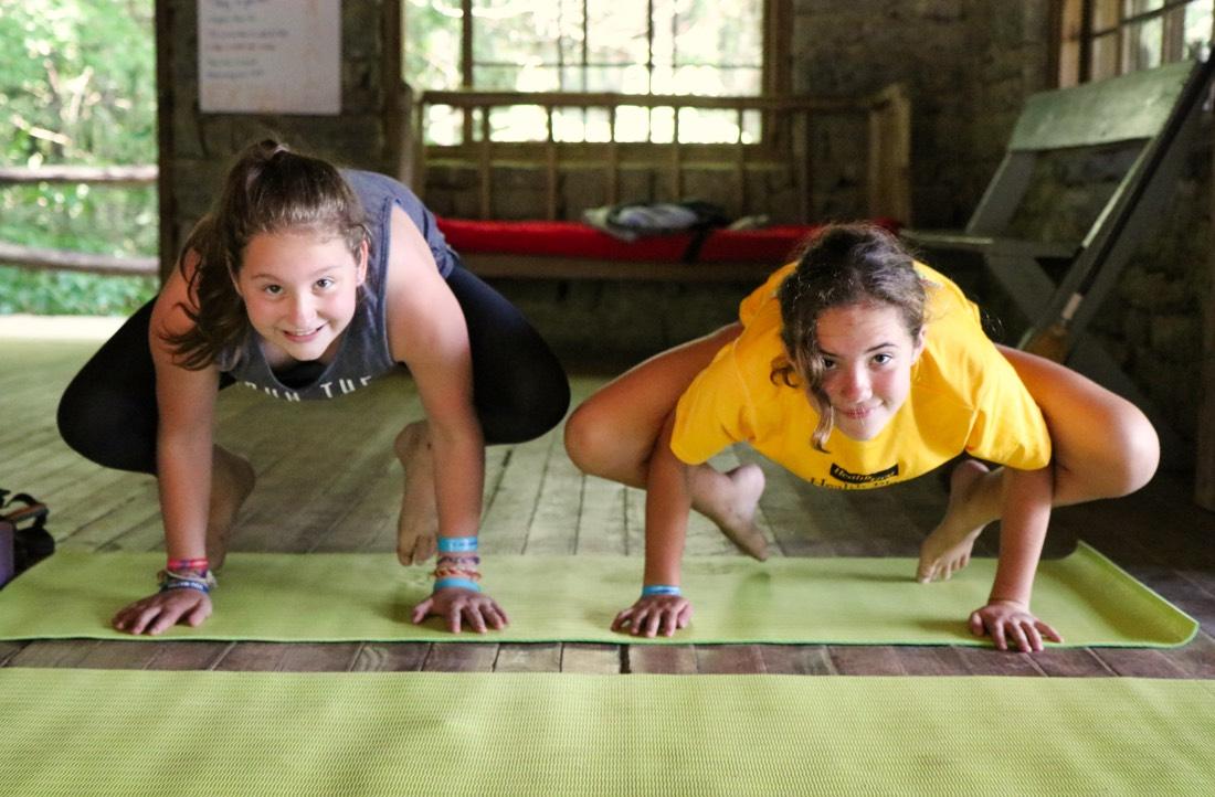 Yoga pose kids
