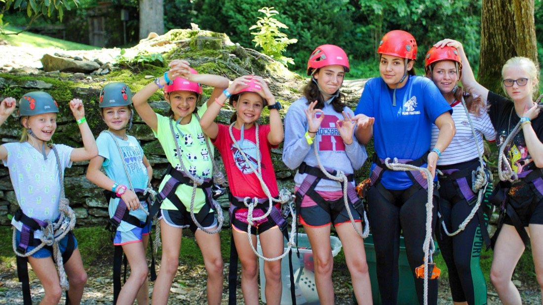 zip line children