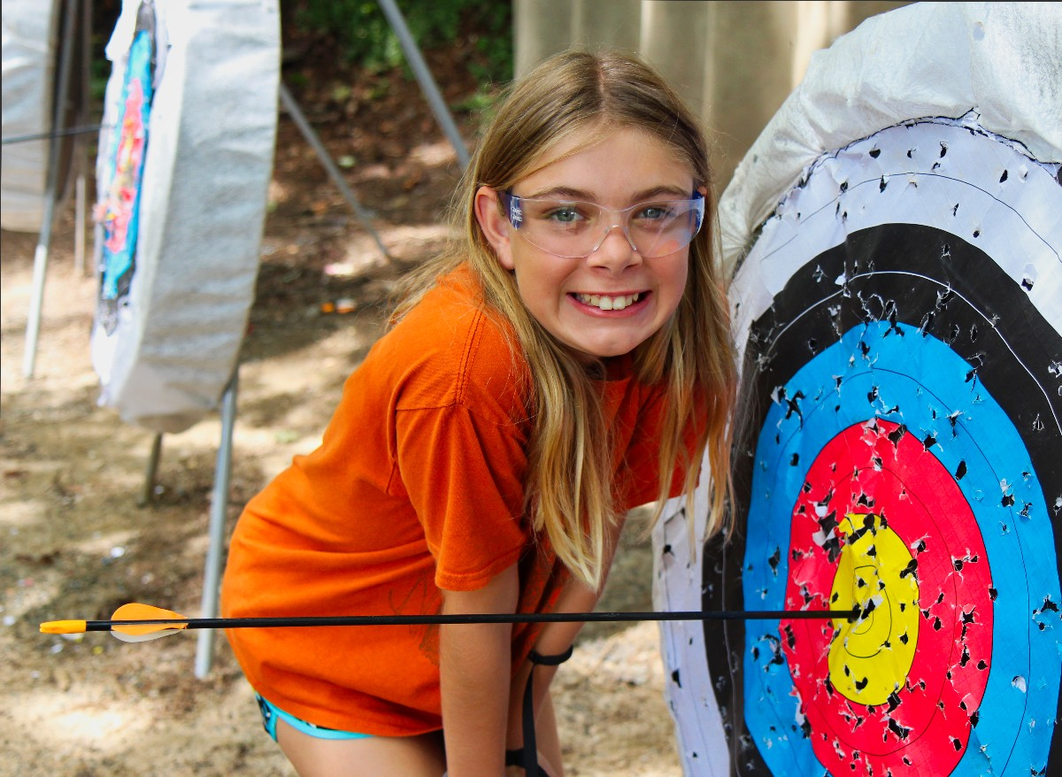 archery bullseye target