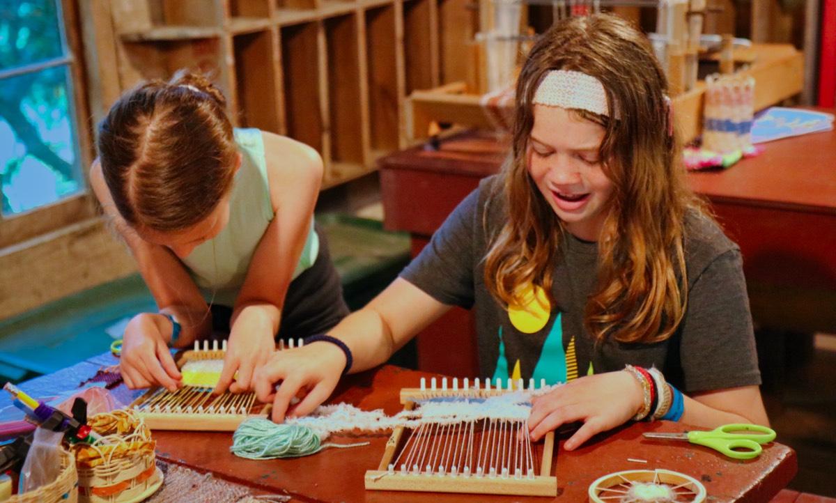 creative weaving kids