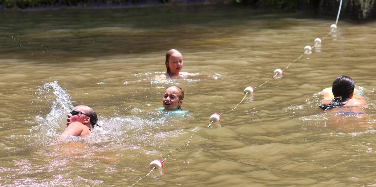 camp free swim time