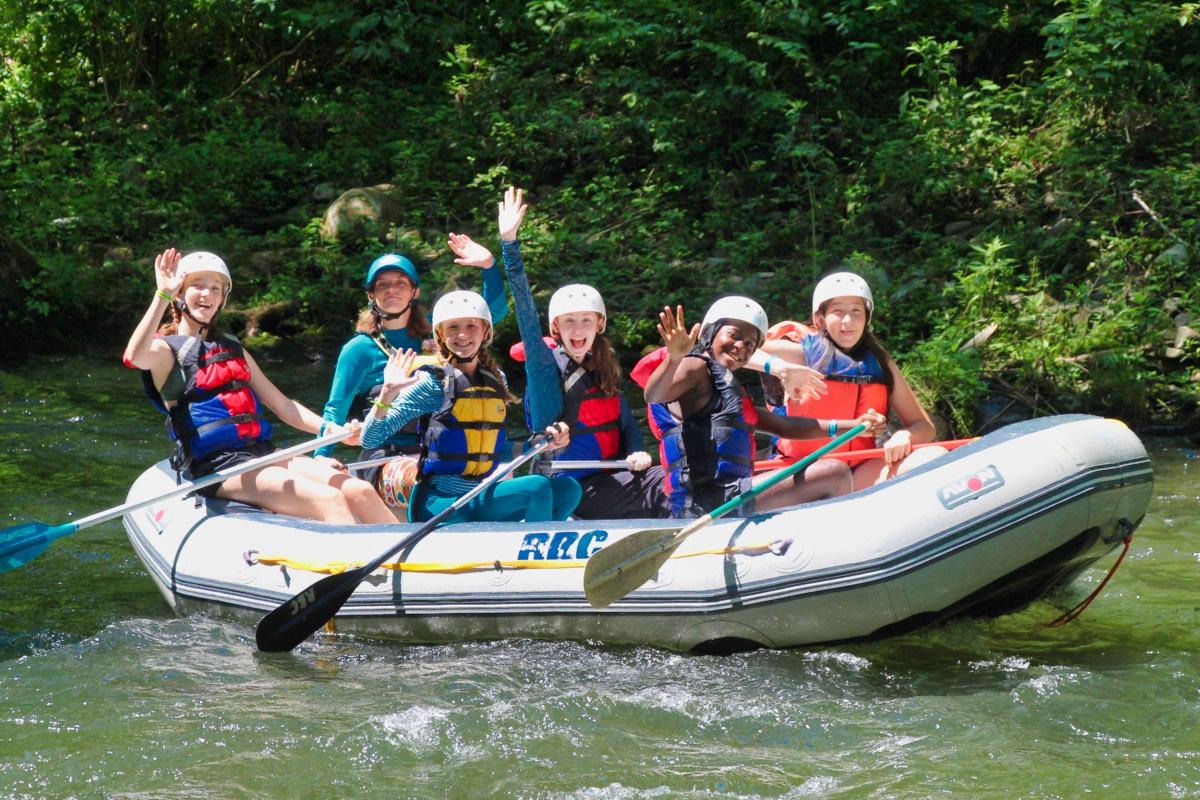 Girls Adventure Campers