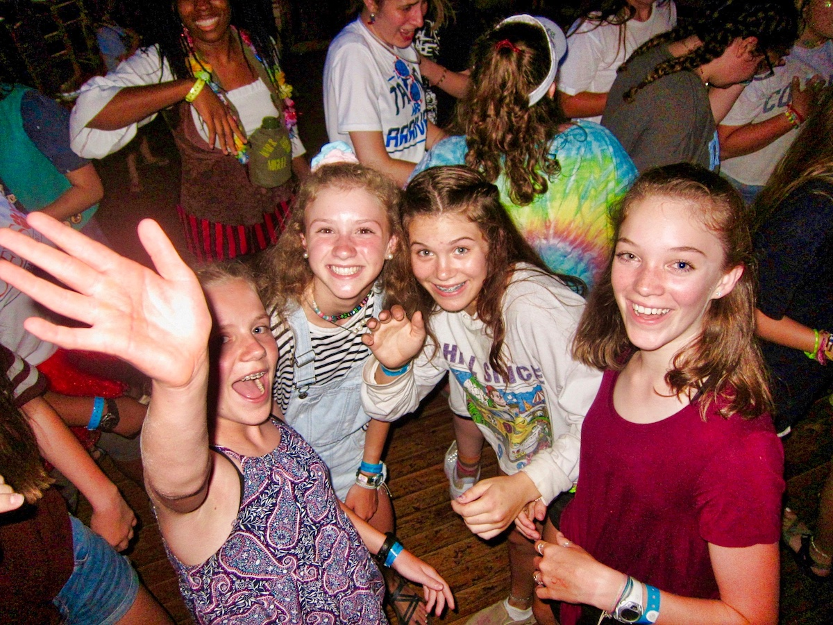 teen camp dance girls