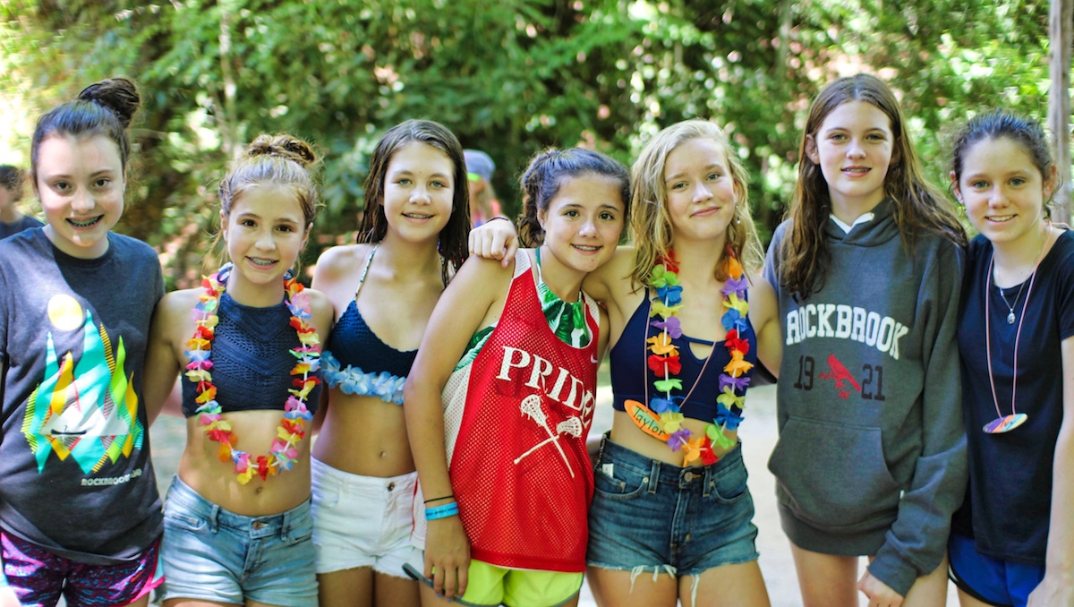 teen summer camp girls
