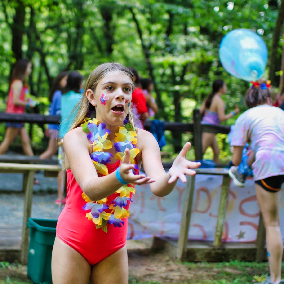 water balloon toss catch