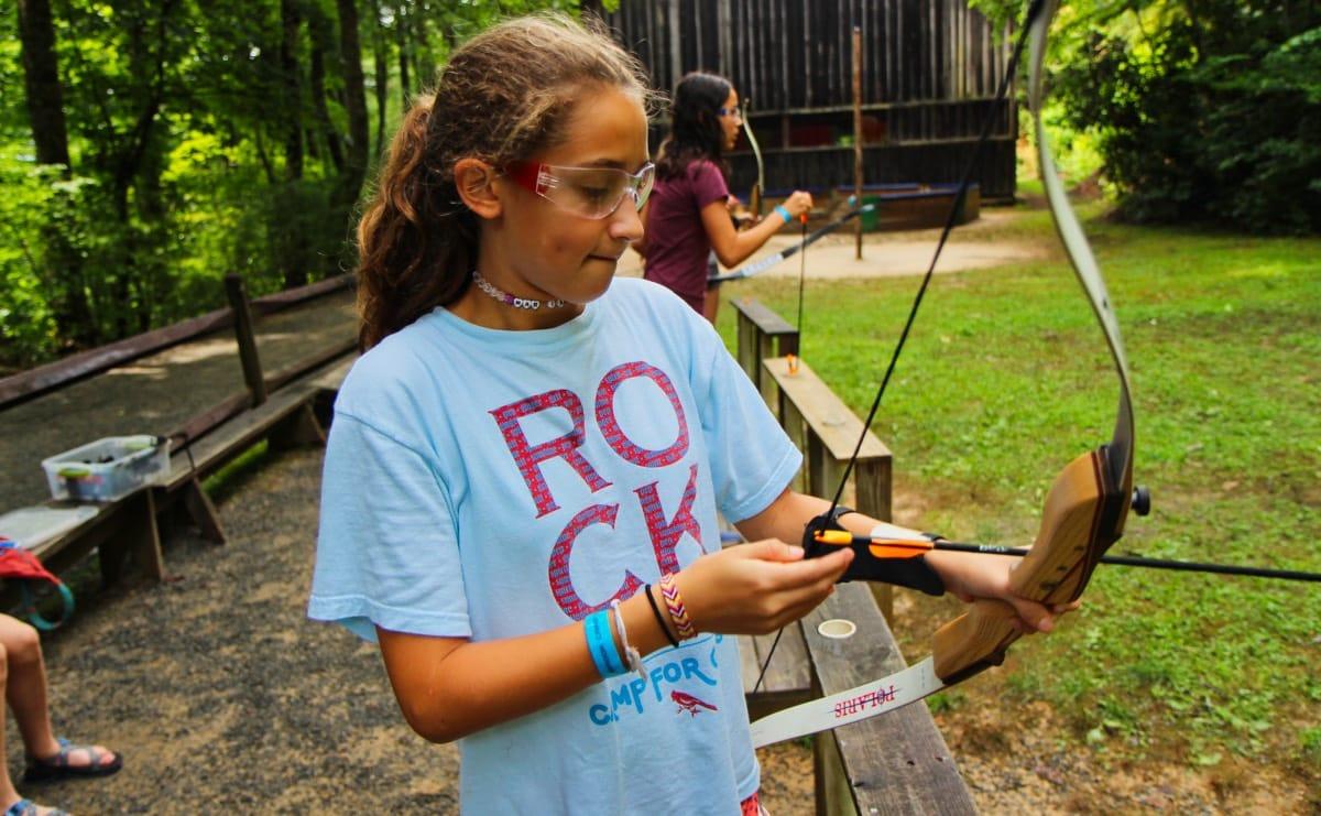 camp archery ready