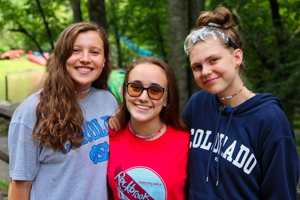 camp teenagers