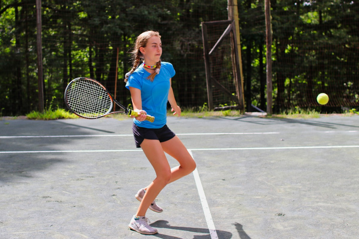 tennis girl camper