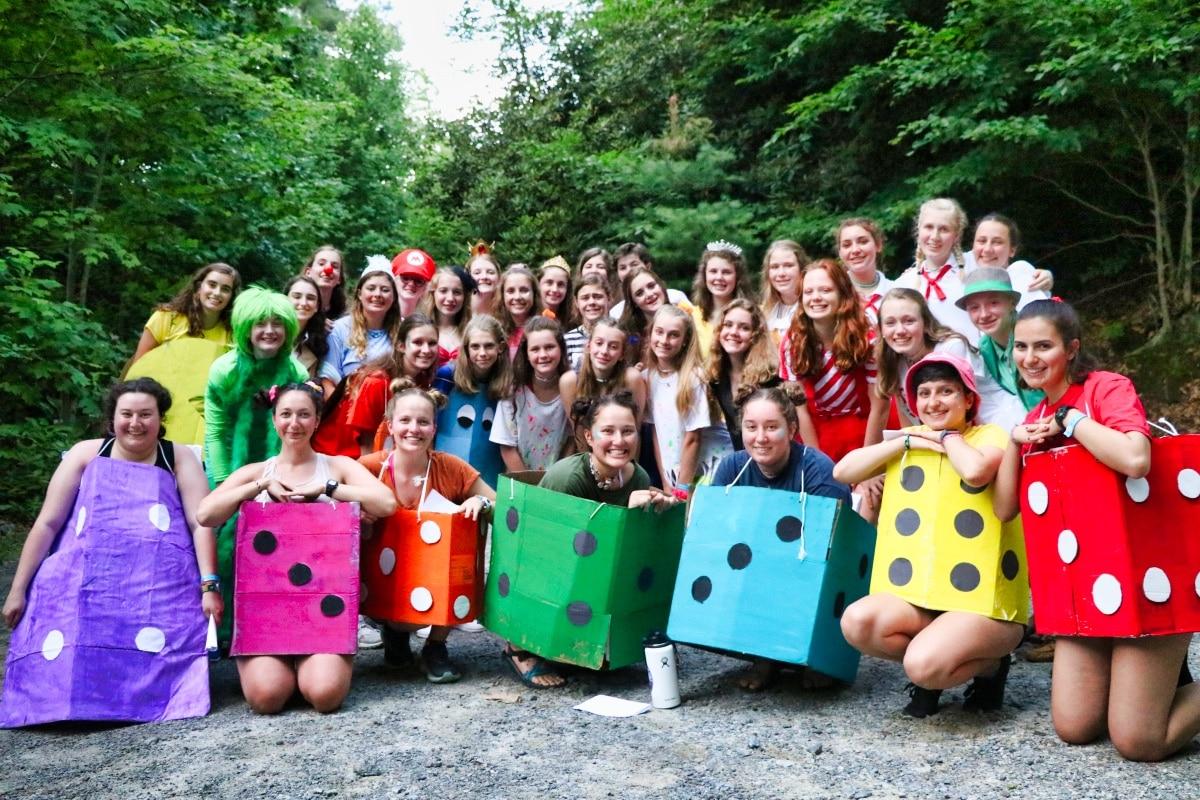 camp baquet costumes