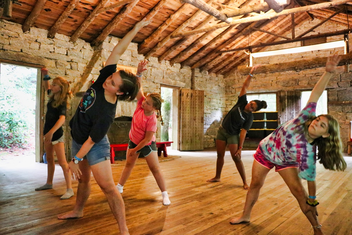dance camp girls