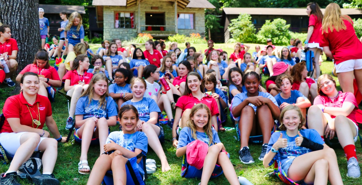 Girl Camp Assembly