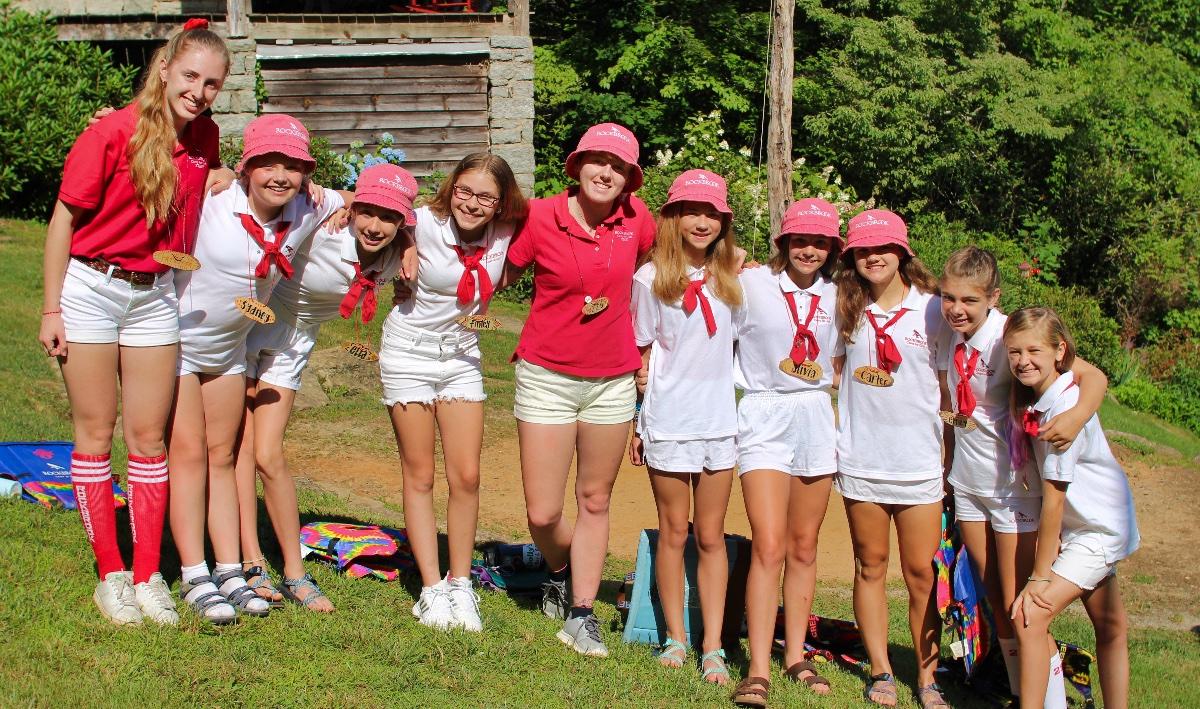 Girls at Sumemr camp