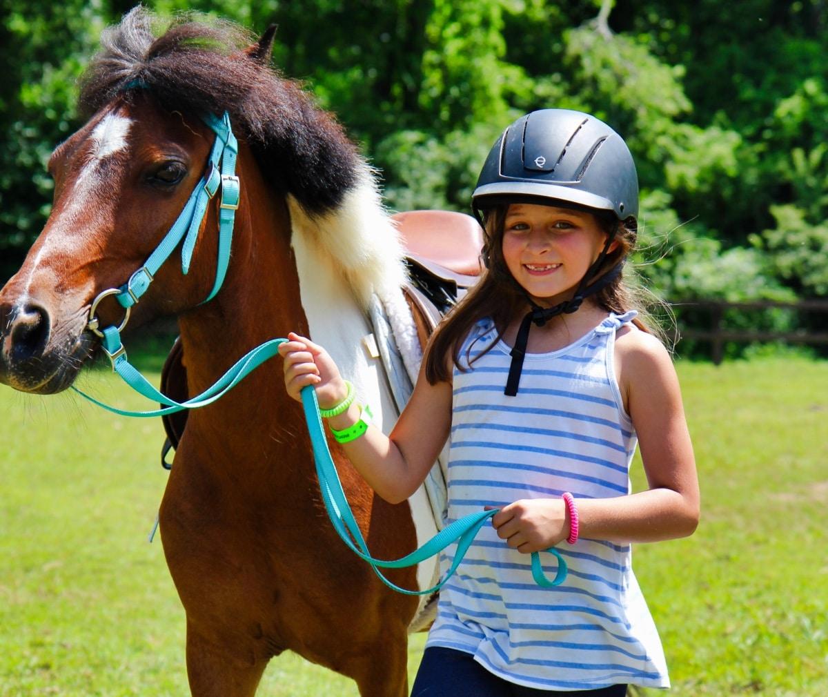 pony girl camper