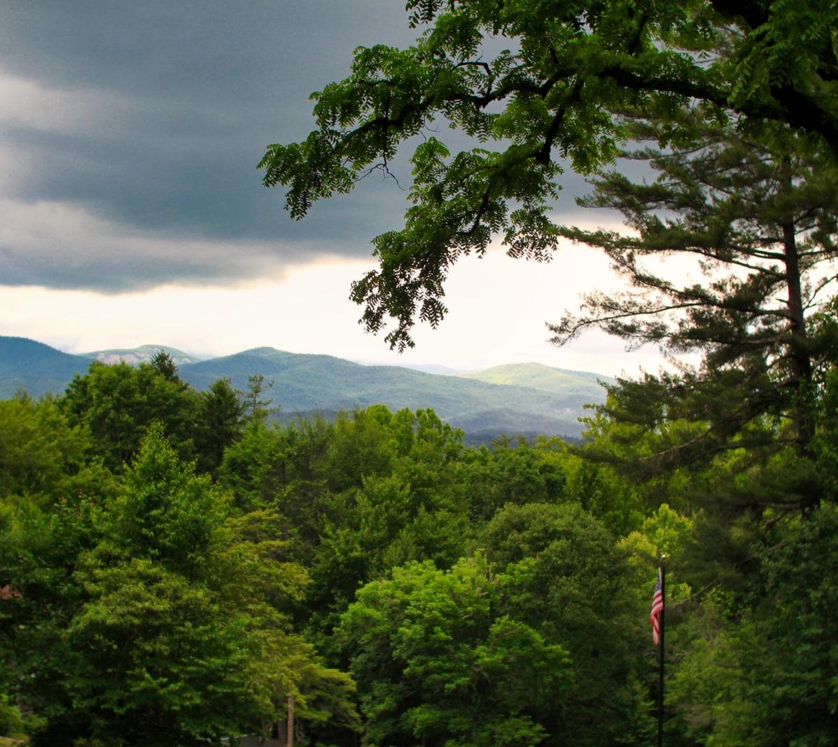 Rockbrook Camp Mountains