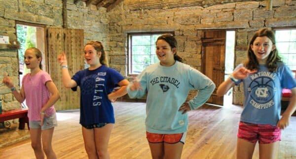 Camp dancers
