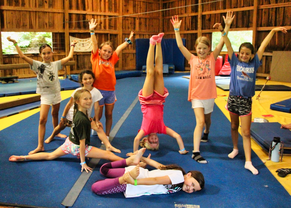 camp gymnastics girls