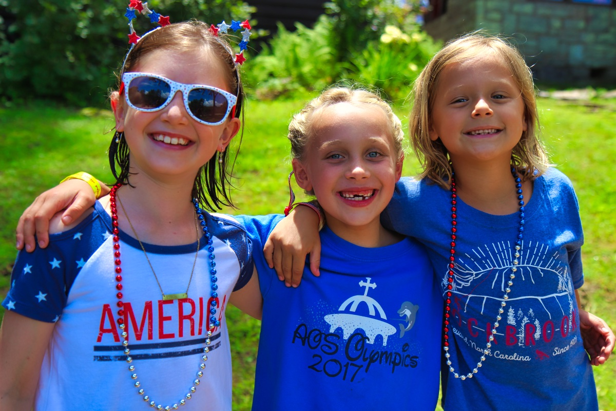 Camp Kids on 4th of july