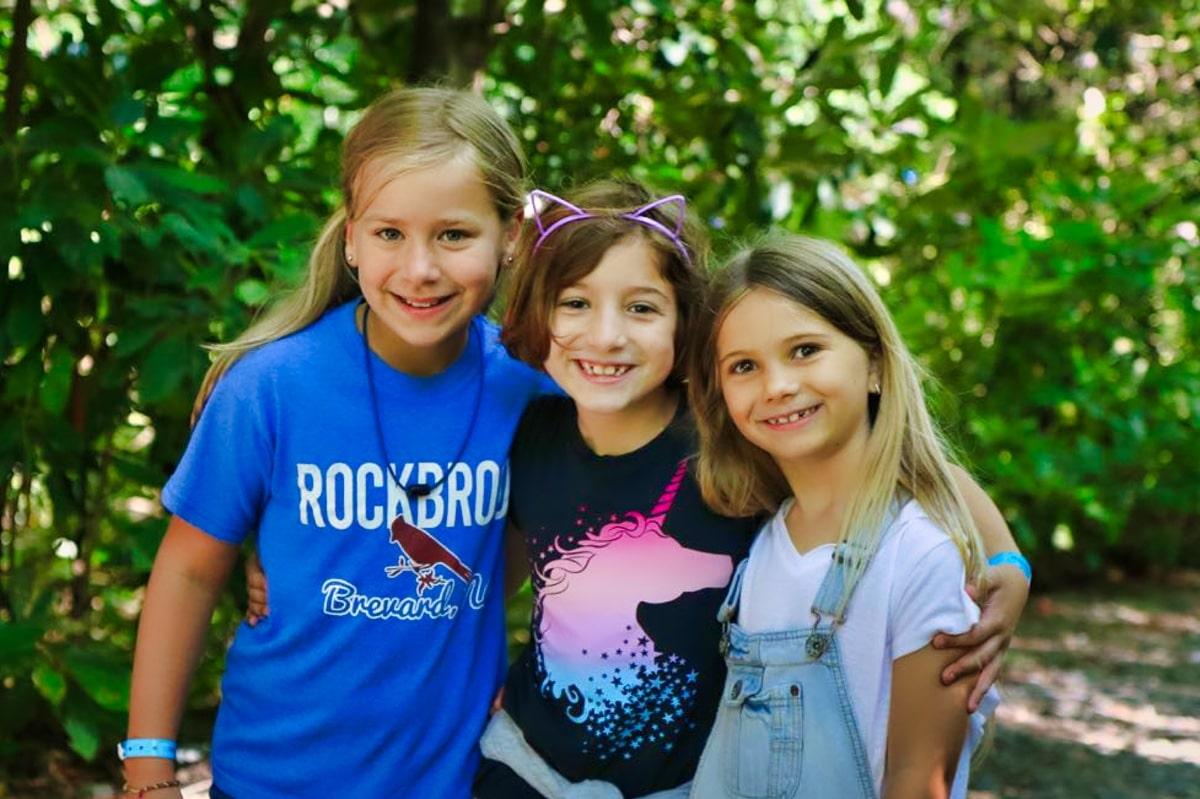 Girls Camp Friends