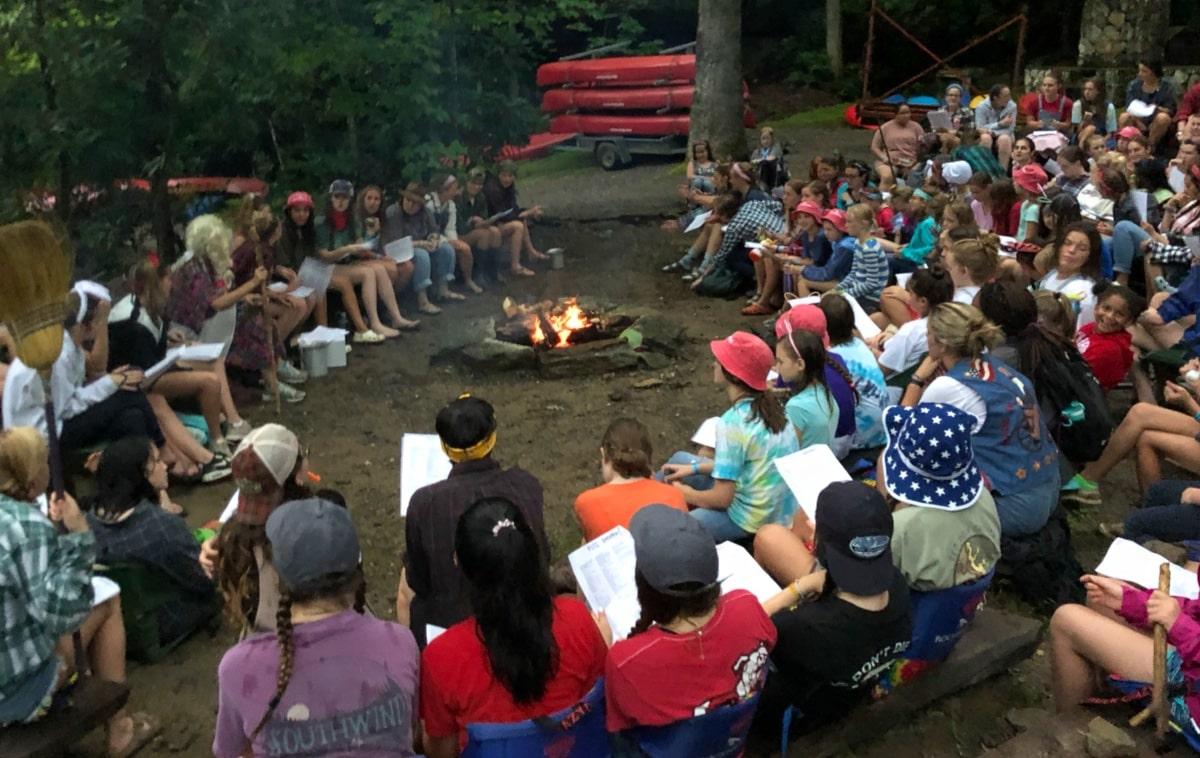 jug band campfire