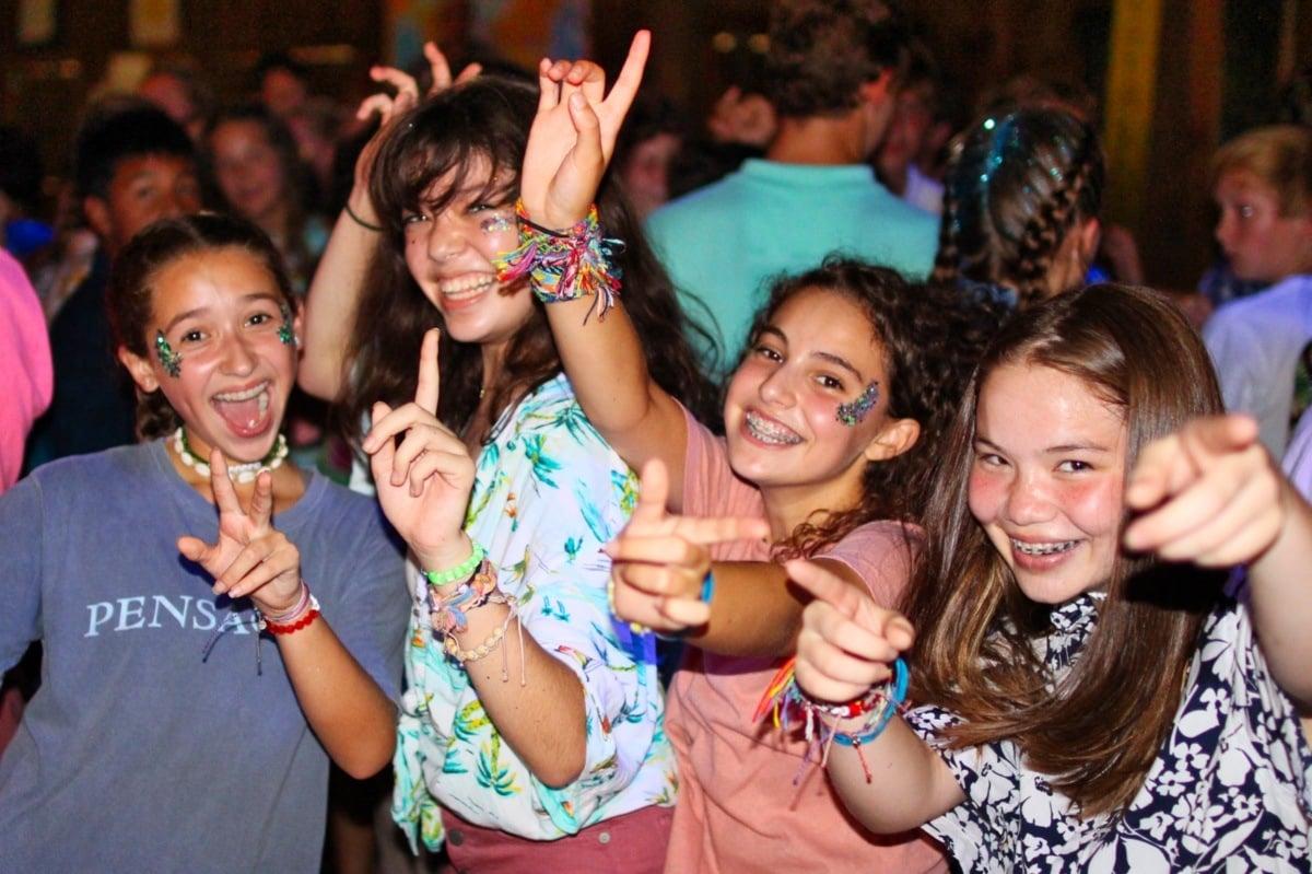 summer camp dance girls