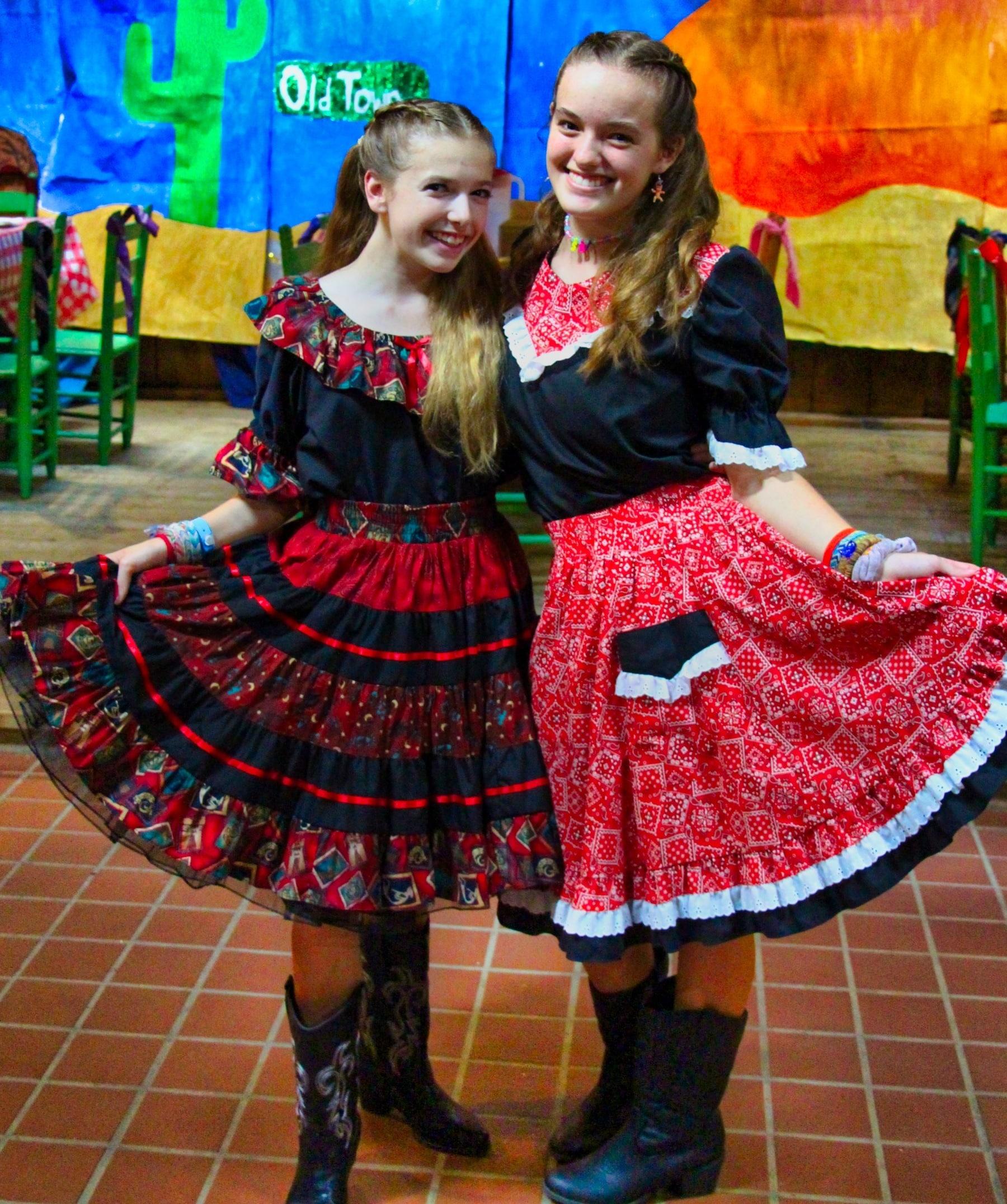 cowgirl costume camp girls