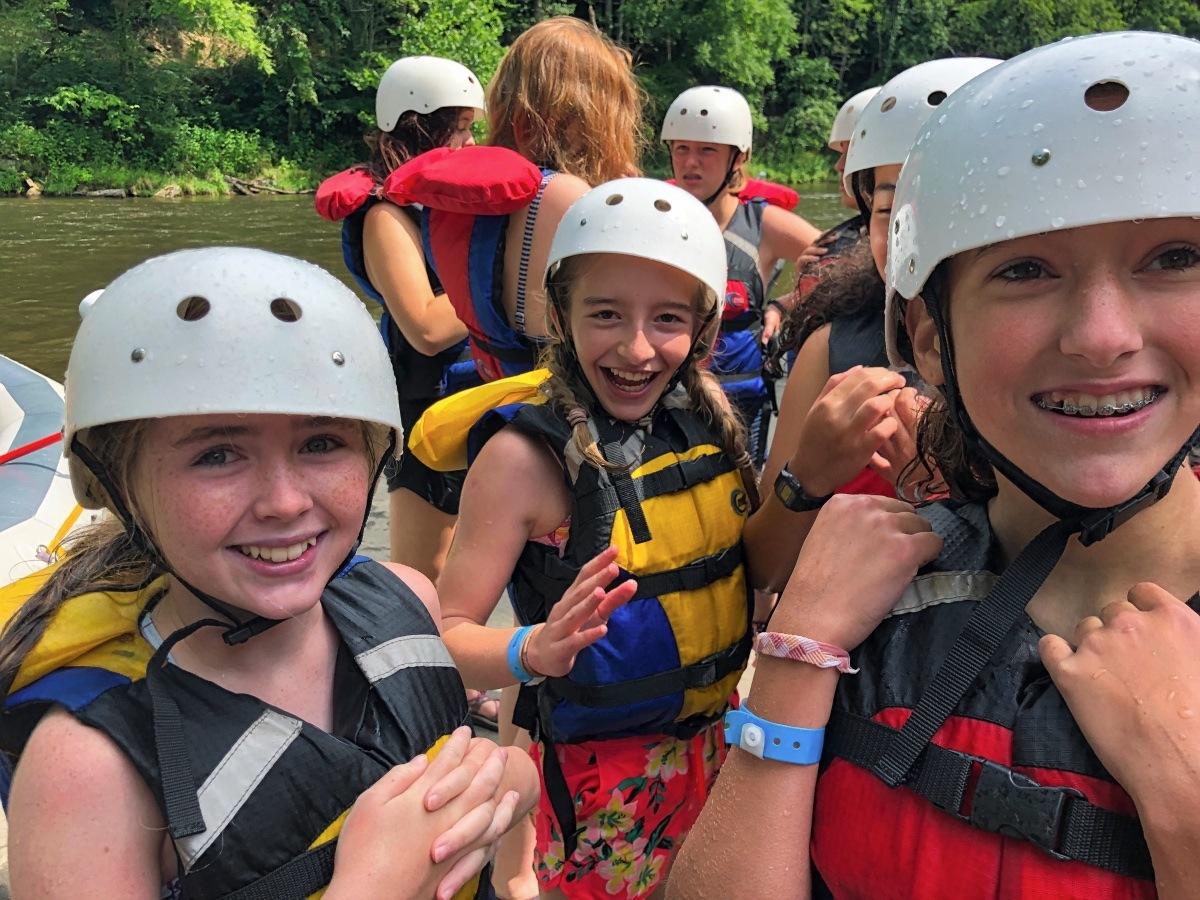 happy adventurous kids