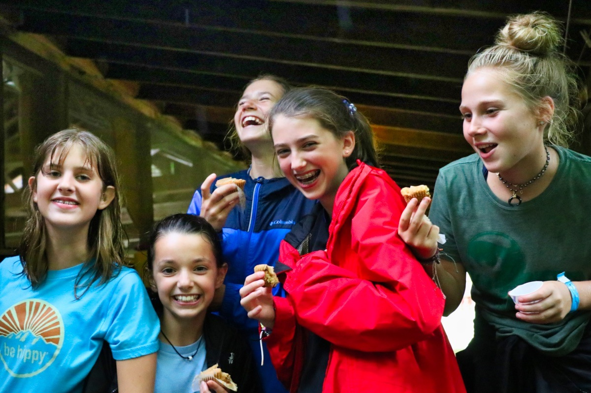 laughing camp girls