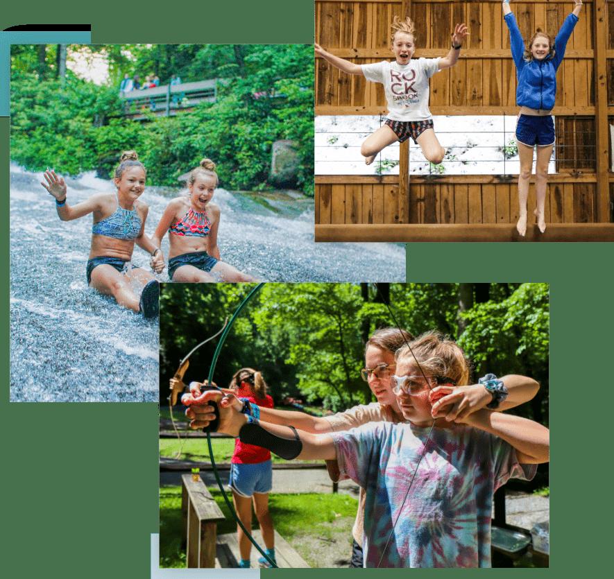 sports activities at camp