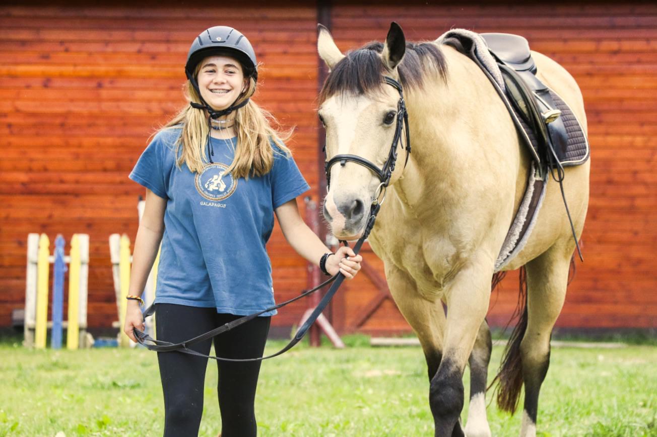 Girls Horseback Riding