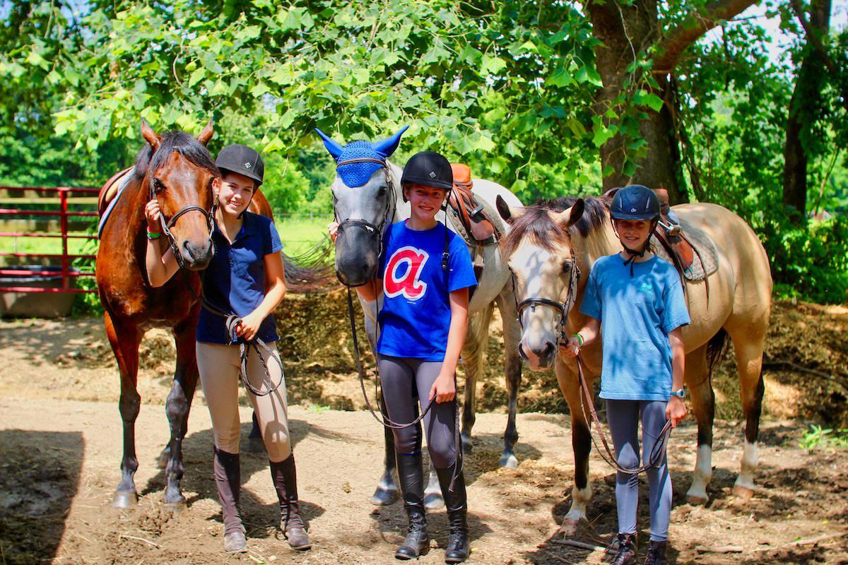 horse camp girls