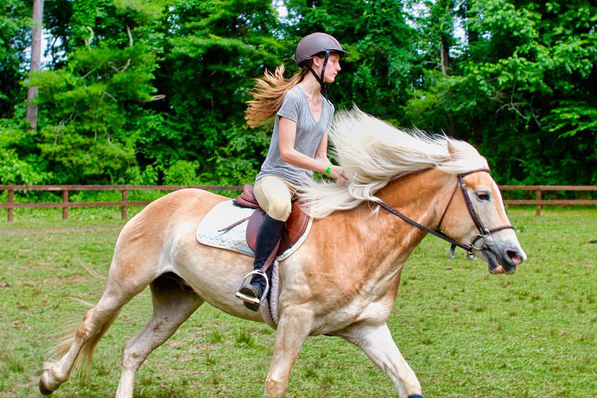 horse girl rocket