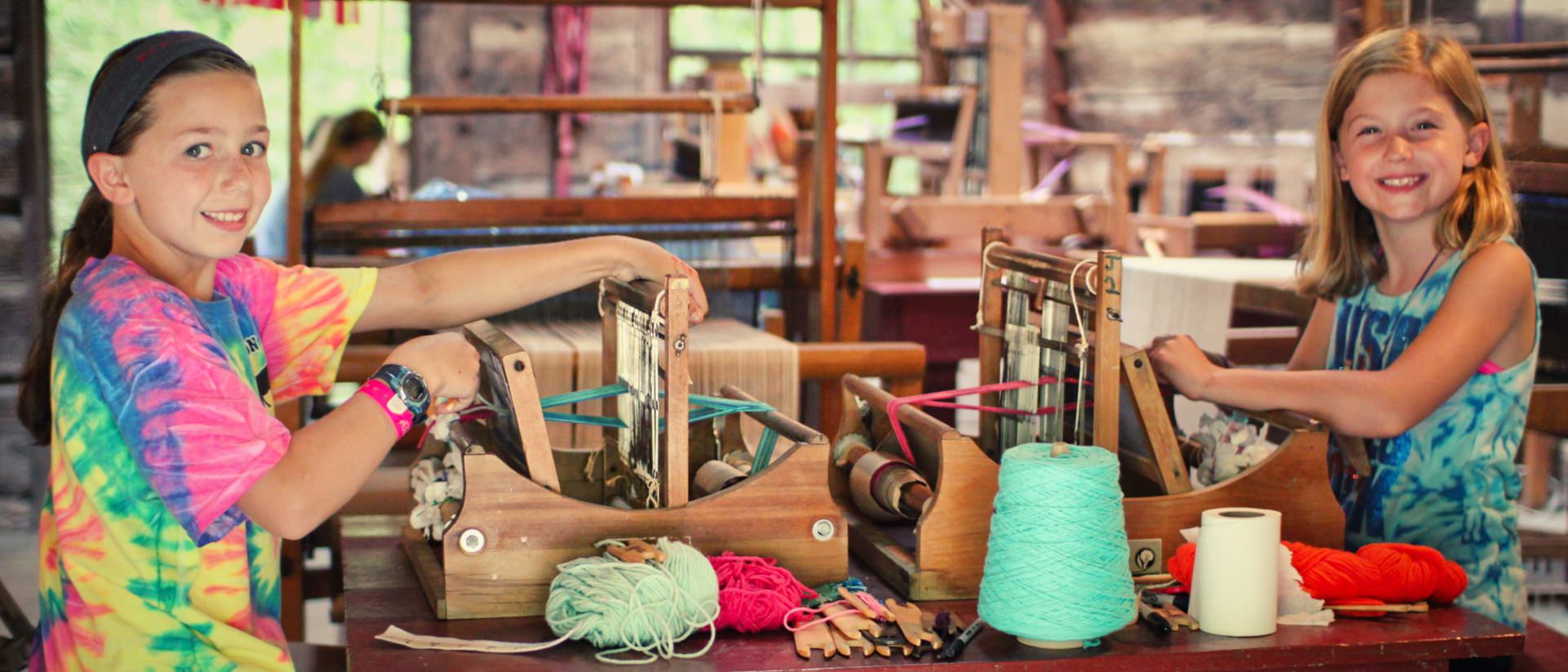 Arts Crafts Activities Camp Creativity Rockbrook Camp