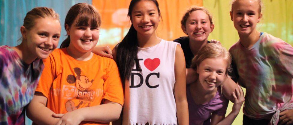 good diverse camp friends