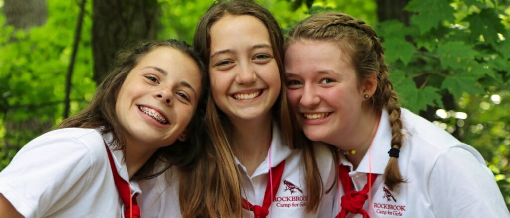 RBC Camp Girls Together before covid-19