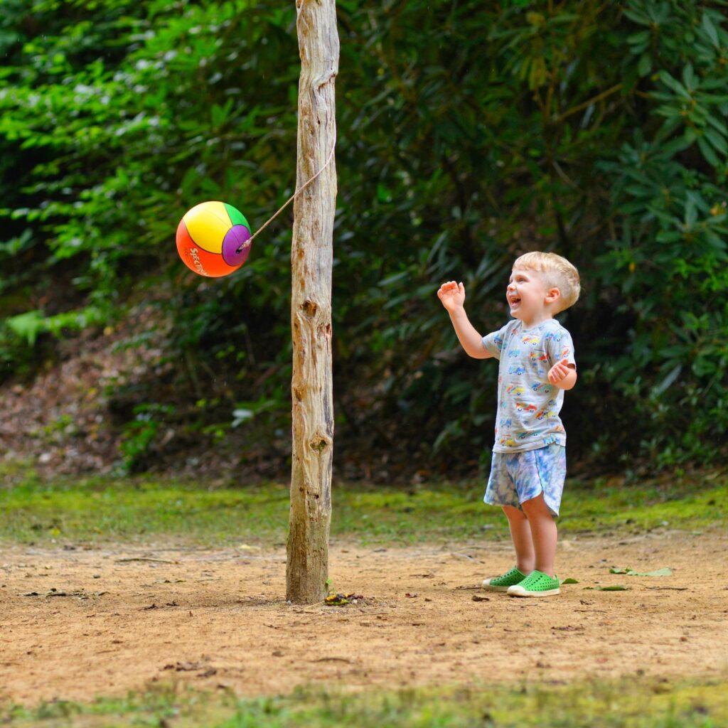 child tetherball