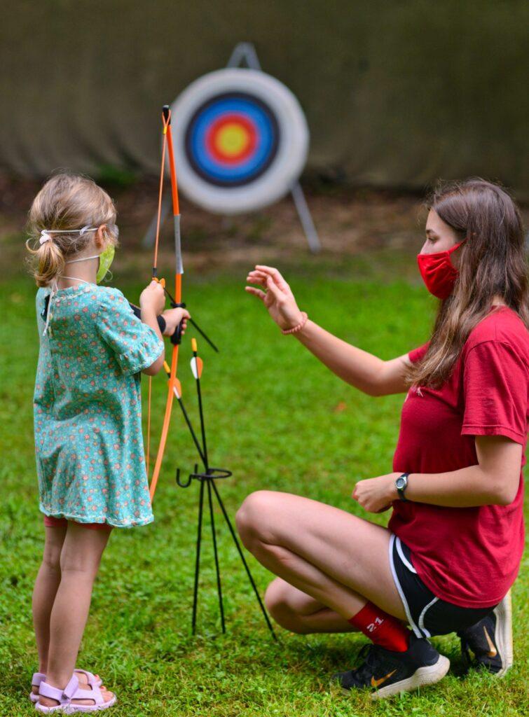 teaching archery